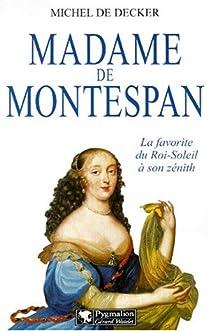 Madame de Montespan par Decker