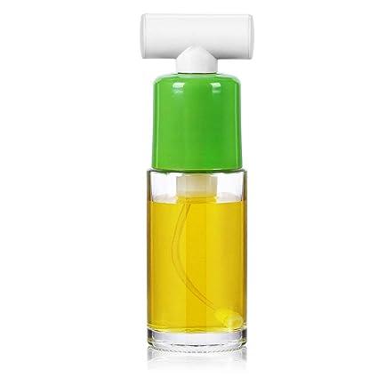DHG Botella para condimentos Pulverizador de Vidrio Aceite de Barbacoa neumático Aceite de Control Aceite de