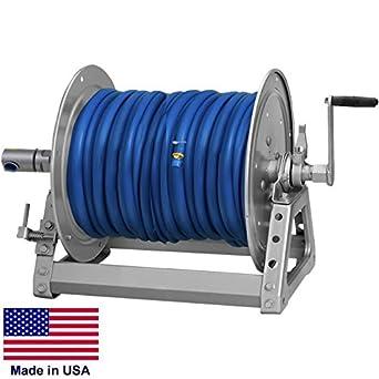 Pressure washer sprayer manual hose reel - Turn garden hose into pressure washer ...