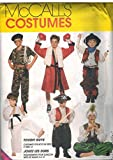 sewing genie - 7744 McCalls Sewing Pattern UNCUT Girls Boys Child Halloween Costume Cowboys Soldier Boxer Karate Genie Pirate Size Small 2 4
