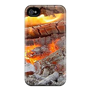 Defender Case With Nice Appearance (burning Embers) For Iphone 4/4s by lolosakes