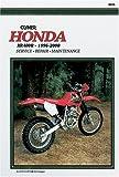 Honda Xr400r, 1996-2000, Clymer Publications Staff, 0892877766