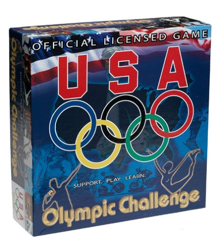 Altius Games USA Olympic Challenge Trivia Game (Best Nba Trivia Questions)