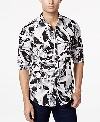 Inc International Concepts Men's Howard Paint-Shapes Button-Front Shirt, Only at Macy'