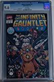 #2: INFINITY GAUNTLET #1, CGC = 9.6, NM+, Thanos, Avengers, 1991 , more in store