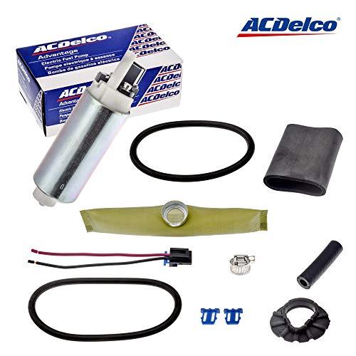 AC Delco Fuel Pump with Strainer for 1992-1997 Astro Blazer C/K 1500 2500 3500 Silverado Sierra S10 Pickup Jimmy Sonoma Suburban Tahoe Yukon Vortec 4.3L 5.0L 5.7L 7.4L