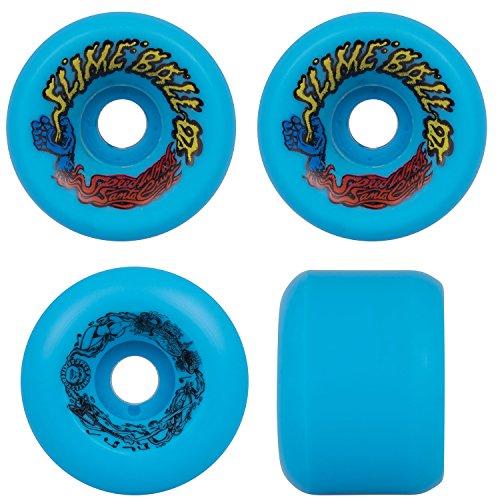 Santa Cruz Old School Re Issue Skateboard Wheels 60Mm Slime Balls Vomits Blue