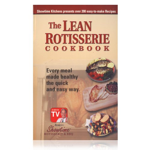 Ronco Inventions Ronco Lean Rotisserie Cookbook