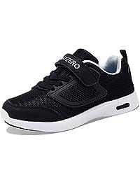 PENGCHENG Kids Running Tennis Shoes for Boys Girls Lightweight Fashion Sneakers Breathable Casual Walking Shoe (Little Kid/Big Kid)