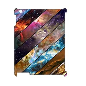 Galaxy Space Universe Customized 3D Cover Case for Ipad2,3,4,custom phone case ygtg554029