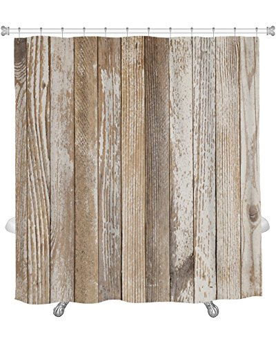 gear-new-shower-curtain-silver-old-wood-painted-white-grunge-wood-with-old-white-paint-gn14606