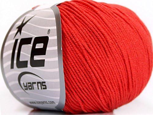 Lot de 4 madejas de hilos Amigurumi algodón (60% algodón) hilo ...