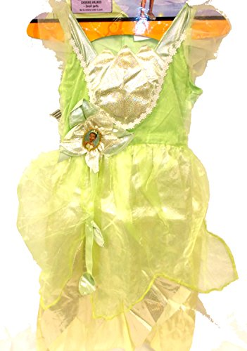[Disney Princess Frog Tiana Shimmer Deluxe Dress Costume M 7-8 NIP] (Princess Tiana Disney Costume)
