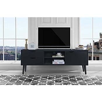 Amazon.com: Mid Century Modern TV Stand (Ash): Kitchen & Dining