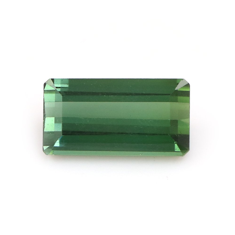 100%Natural Blue Green Tourmaline Emerald Step Cut Faceted 10.39 Carats TCW Fine Quality Gem By DVG