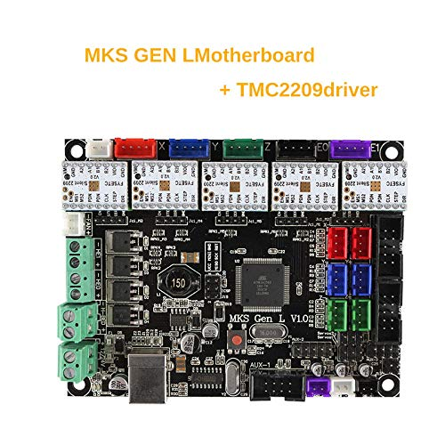 Modaily Controlador de Placa de Impresora 3D MKS Gen L V1.0 con 5 ...