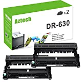 Aztech 2-Packs Drum Unit Replaces Brother DR630 DR-630 DR 630 12,000 Page Yield For Brother HL-L2340DW HL-L2300D HL-L2380DW HL-L2320D MFC-L2700DW MFC-L2740DW MFC-L2720DW DCP-L2520DW DCP-L2540DW
