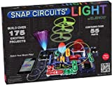 Snap Circuits SCL-175 Lights Electronics Exploration Kit | Over 175 Exciting STEM Projects | 4-Color Project Manual | 55 Snap Modules | Unlimited Fun