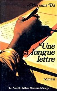 une si longue lettre pdf Amazon.com: Une Si Longue Lettre (9782842612894): Mariama Ba  une si longue lettre pdf