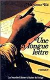 Une Si Longue Lettre, Mariama Ba, 272361042X