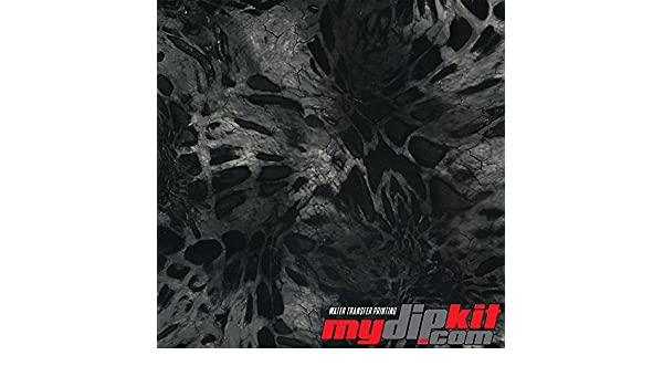 Prym1 Black Out Camo Hydrographic Film RC-411 Hydro Dipping Water Transfer Printing Film