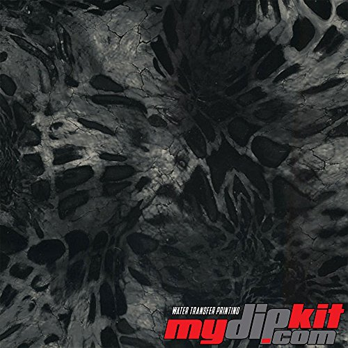 Water Transfer Printing Film - Hydrographic Film - Hydro Dipping - Prym1 Black Out Camo - RC-411 by MyDipKit