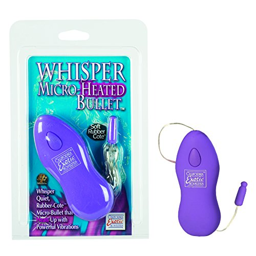 UPC 716770050205, California Exotics Whisper Micro-Heated Bullet, Purple