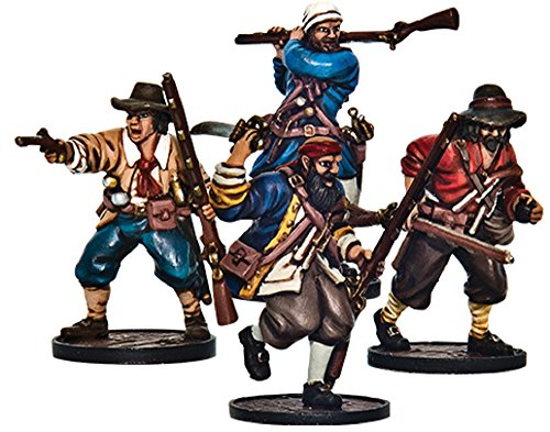 Blood & Plunder: English Forlorn Hope Unit (Buccaneer Storming Party) by Blood & Plunder