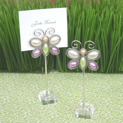 Love is Aflutter Butterfly Place Card Holders - Total 120 items by Eventblossom (Image #1)