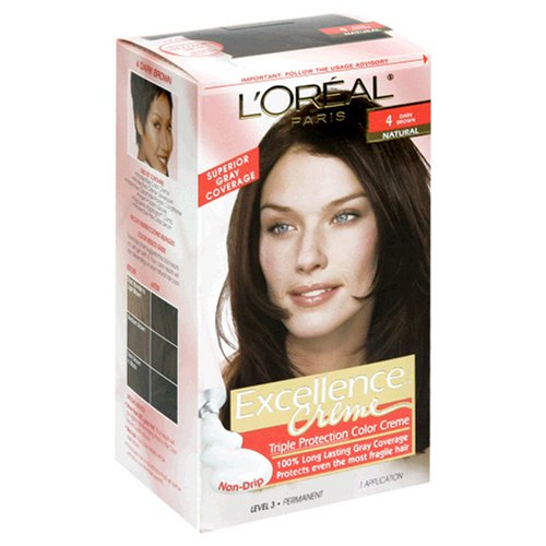 L'Oreal Paris Excellence Creme with Pro-Keratine Complex, Dark Brown -  FPS-173297