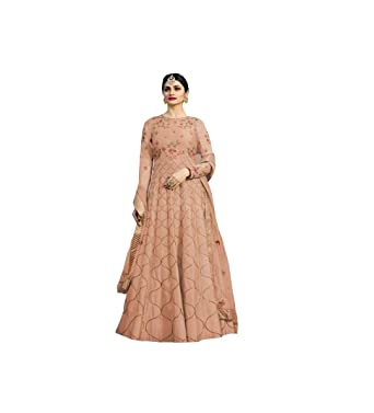 Royal Export Women s Bamboo Silk party wear Gown  Amazon.in ... 8109b80a6