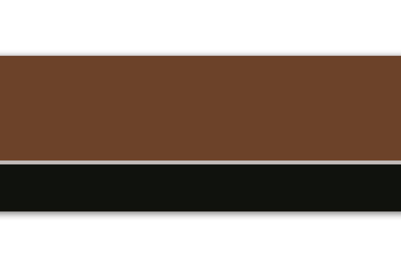 '' bord autocollant rayures marron, 4 teilig 560 x 15 cm, papier peint bord, murale bord, borte, dé coration murale, Motif abstrait, Vintage 4teilig 560x 15cm décoration murale wandmotiv24