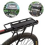 Cosway Bike Luggage Rack Practical 50 Kg Capacity Rear Tire Mountain Bicycle Rear Rack
