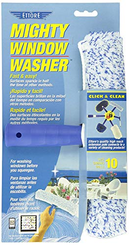 Ettore 50010 Mighty Window Washer, 10-Inch