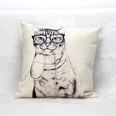 FairyTeller Vintage Cotton Linen Decorative Coshion Cover Throw Pillow Covers Capa De Almofada Quality First