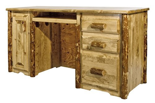 Montana Woodworks MWGCDP Glacier Country Collection Computer Desk ()