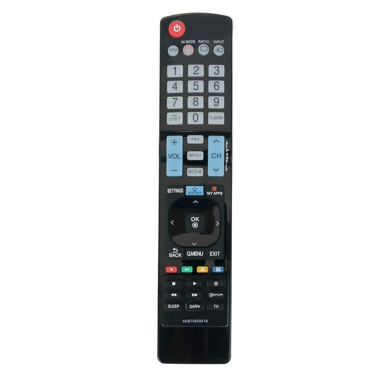 Control Remoto AKB74455416 LG TV 32LF580B 50LF5800 55LF58...