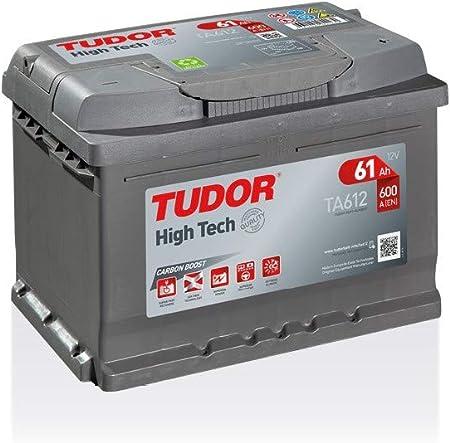 Batterie HIGH TECH TUDOR TA612 12V 60Ah 600A Batteries