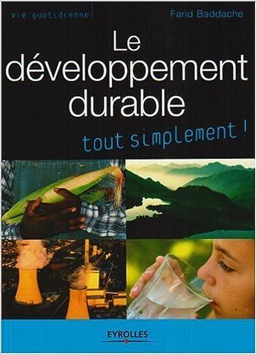 Livres Le développement durable epub, pdf
