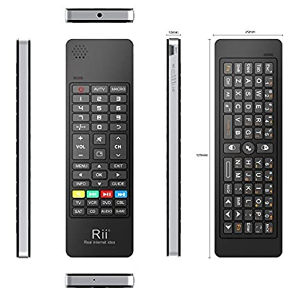 18511a78030 Rii K13 Multifunction QWERTY Air Mouse Wireless: Amazon.co.uk: Electronics