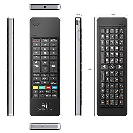 (Magic Combos, 5 Functions in One Mini Keyboard) Rii Mini K13 2.4Ghz