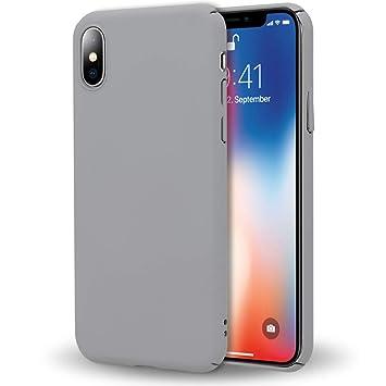 9fdc5c4f18a NALIA Funda Compatible con iPhone X XS, Carcasa Protectora Hard-Case  Ultra-Fina