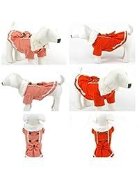 Take Bargain World Fashionable Pet Fabric Princess Lovely Bow-Knot Decoration Skirt online