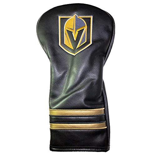 Team Golf NHL Las Vegas Golden Knights Vintage Driver Golf Club Headcover, Form Fitting Design, Retro Design & Superb Embroidery ()