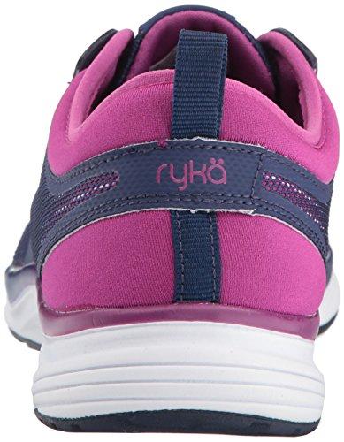 Ryka Womens Resonant Nrg Cross Trainer Blu Scuro / Viola