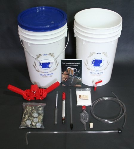 Home Beer Brewing Equipment Kit with Irish Stout by The Home Brewery