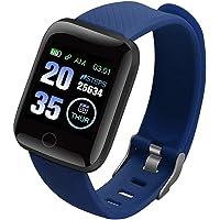 Huaze Fitness Tracker, HR Monitor, Activiteitstracker, Stappenteller Horloge Kleurmeter IP67 Waterdicht 3,3 cm Perfect…