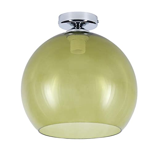 Kugeldeckenleuchte Verde Ø 30cm Lámpara Techo Cristal E27 ...