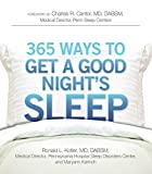 365 Ways to Get a Good Night's Sleep (English Edition)