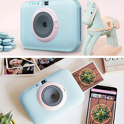 SFXYJ Instant Photo Printer,Mini Portable Pocket Color Wireless+Camera Function,Blue by SFXYJ (Image #5)